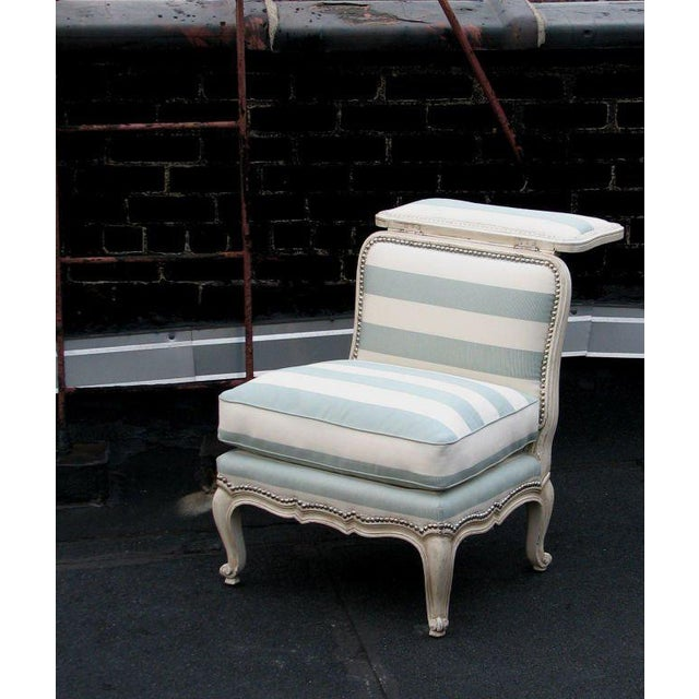 Frederick P. Victoria & Son, Inc. Voyeuse Chair For Sale - Image 4 of 5
