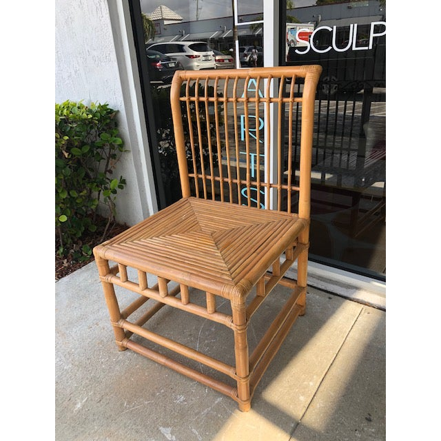1980s Vintage Retro Boho Chic Accent Chair For Sale - Image 10 of 11