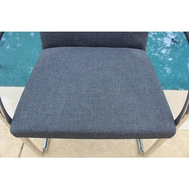 Vintage Ludwig Mies Van Der Rohe Knoll Tubular Brno Chair - Image 7 of 10