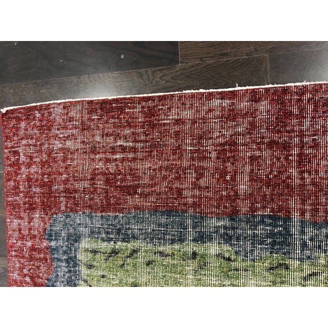 """Zeki Muran Turkish Rug - 4'9"""" x 5'10"""" - Image 6 of 7"""