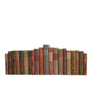 Vintage Victorian Scrolled Book Set For Sale