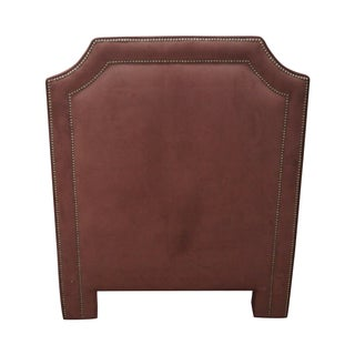 Upholstered Twin Size Headboard with Tackhead Trim