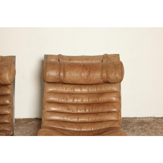 Pair of Arne Norell Ari Chairs, Norell Mobler, Sweden, 1970s For Sale - Image 11 of 13