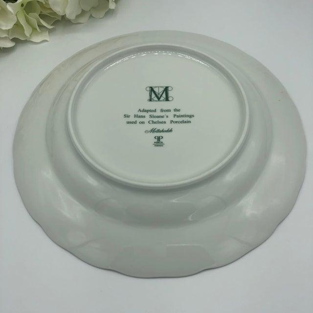 Mottahedeh Chelsea Botanical Vista Alegre Dinner Plates - Set of 4 For Sale - Image 10 of 12