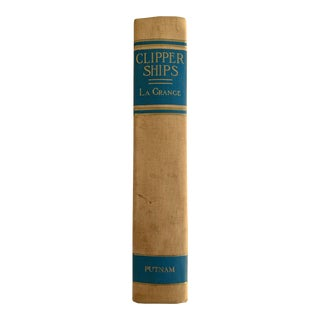 Clipper Ships of America and Great Britain by Jacques La Grange For Sale