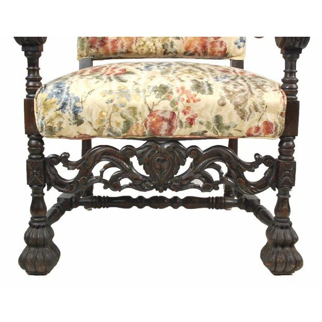 Antique Carved Gothic Great Hall Chair - Image 5 of 7 - Antique Carved Gothic Great Hall Chair Chairish