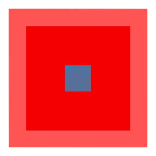 """Color Study #16"" Unframed Geometric Print For Sale"