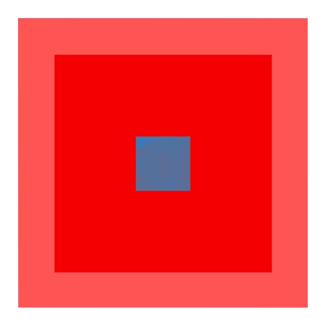 """""""Color Study #16"""" Unframed Geometric Print For Sale"""