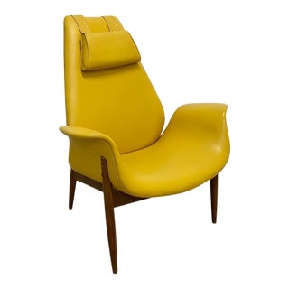Rare Lounge Chair by Arthur Umanoff For Sale