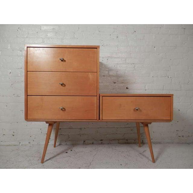 Wood Paul McCobb Three-Piece Modular Mid-Century Modern Dresser For Sale - Image 7 of 7