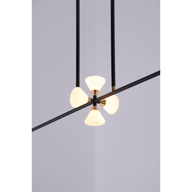 Apollo 6 Chandelier by McKenzie & Keim For Sale In Chicago - Image 6 of 13