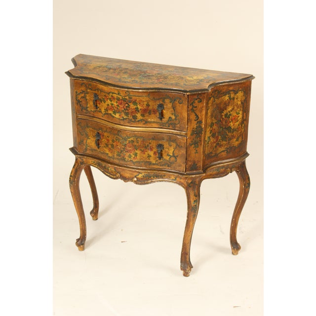 1920s Italian Painted Chest of Drawers For Sale - Image 13 of 13