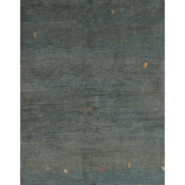 Persian Gabbeh Rug - 5′1″ × 6′2″ - Image 1 of 4