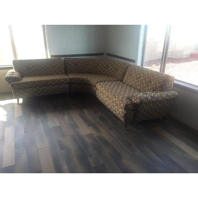 Kroehler Mid-Century Kroehler Sectional Sofa For Sale - Image 4 of 4