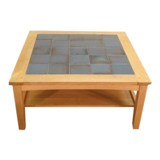 Mission Oak Arts and Crafts Stickley Coffee Table For Sale