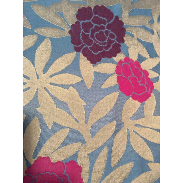 Osborne & Little Pink & Purple Peonies Fabric- 2 Yards - Image 2 of 5