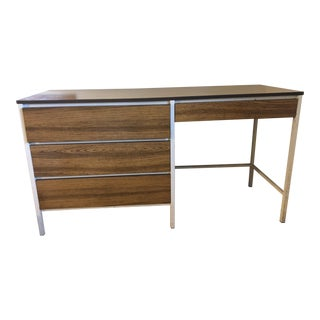 1950s Mid-Century Modern Simmons Vivant Writing Desk For Sale