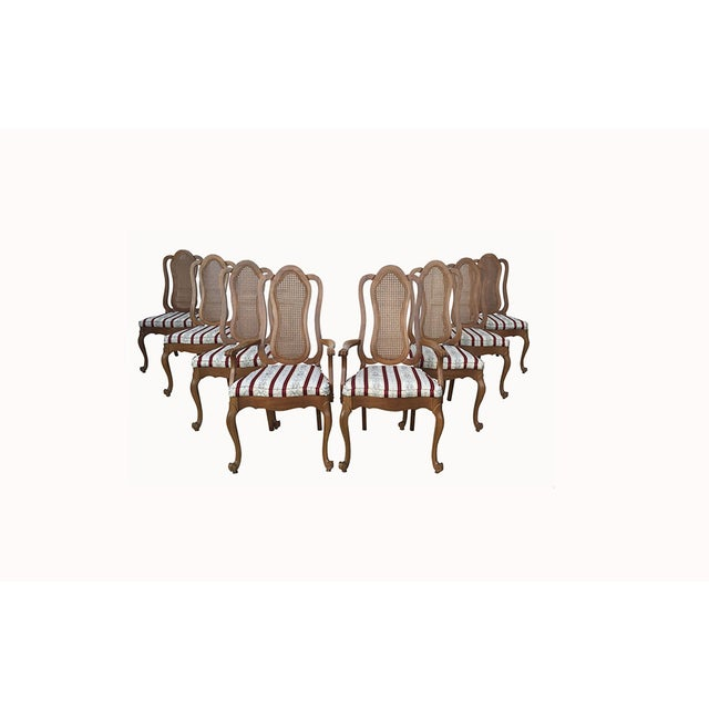 Maitland-Smith French Provincial Chairs - 8 - Image 2 of 9
