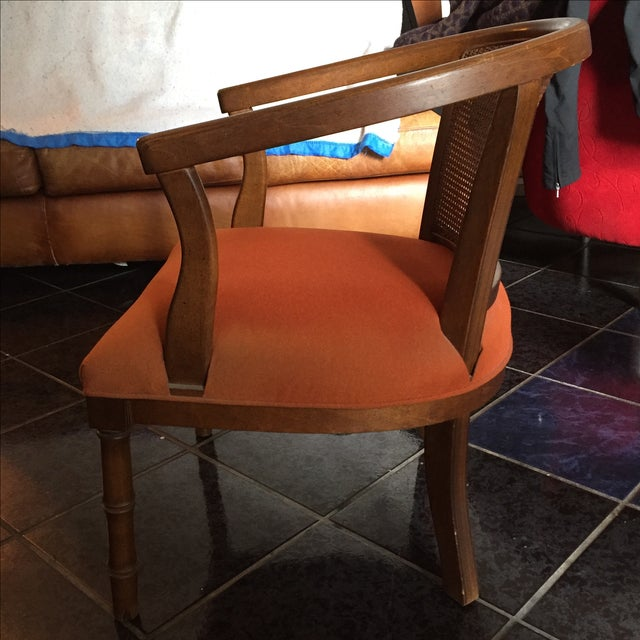 1960's Vintage Barrel Chairs - A Pair - Image 10 of 11
