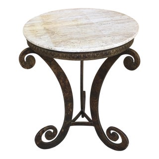 Marble Top Table For Sale
