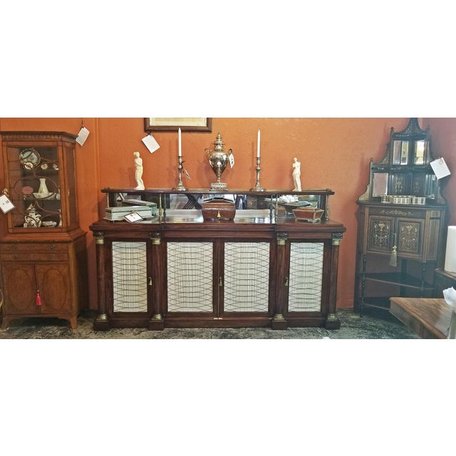 PRESENTING an ABSOLUTELY GORGEOUS Early 19th Century English Chiffonier or Breakfast Buffet, most likely, from the...