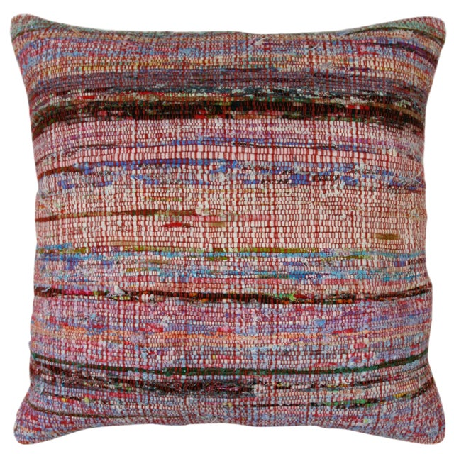"Cotton Kilim Pillow | 20"" For Sale"