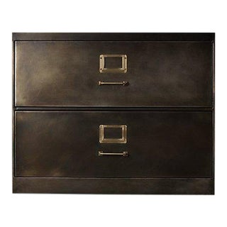 Restoration Hardware 1940's Industrial Modular Office File Cabinet