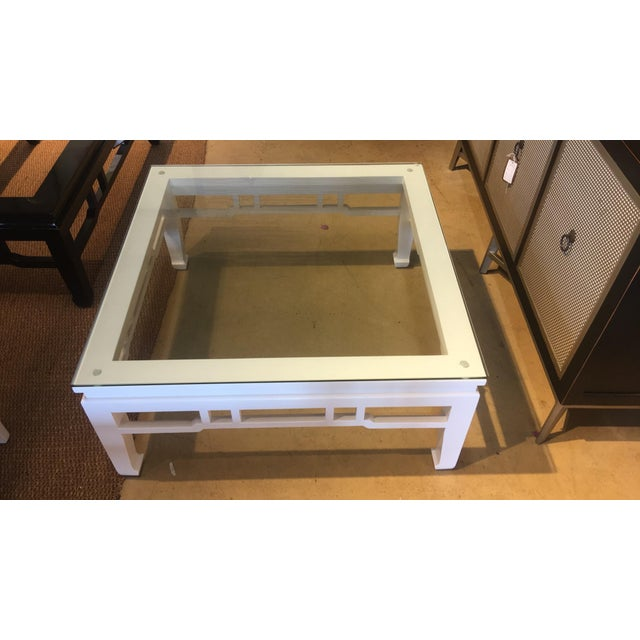 White Glossy Coffee Table - Image 3 of 3
