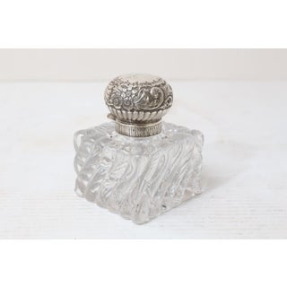 1929 English Sterling Silver & Crystal Perfume Preview