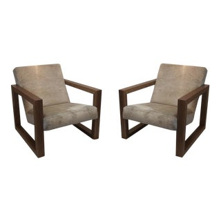 Mid-Century Lounge Chair - a Pair