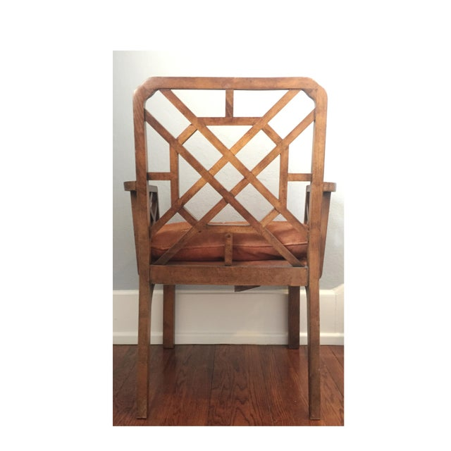 Mid-Century Chinese Chippendale Armchairs - A Pair - Image 3 of 5