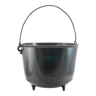 Iron Cauldron Planter For Sale