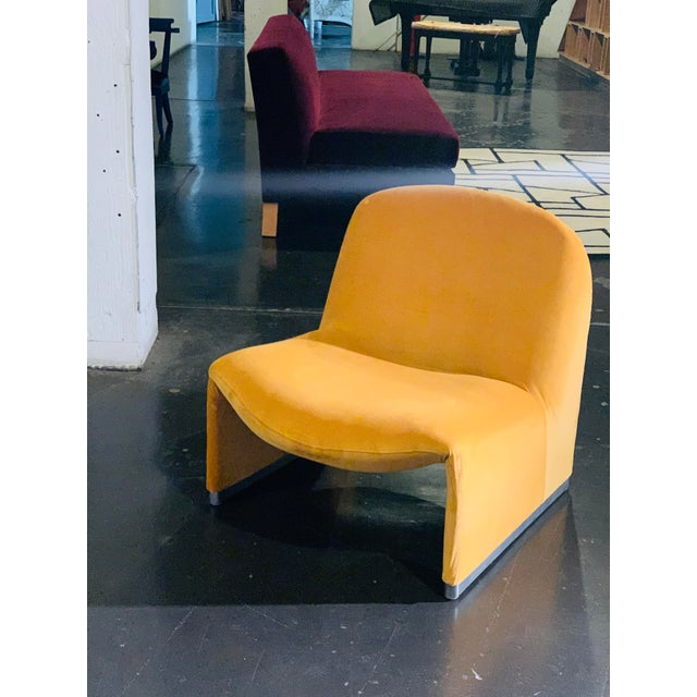 Reitter Design Studio Unveils the vintage alky chair in a fresh plush goldenrod velvet, complete with new padding adorning...