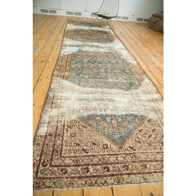 """Antique Malayer Rug Runner - 3'6"""" x 13'3"""" - Image 8 of 10"""