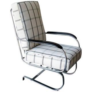 "Vintage Miid Century Kem Weber Art Deco ""Springer"" Chair For Sale"