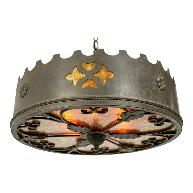 Mica Medieval Revival Chandelier - Image 1 of 11