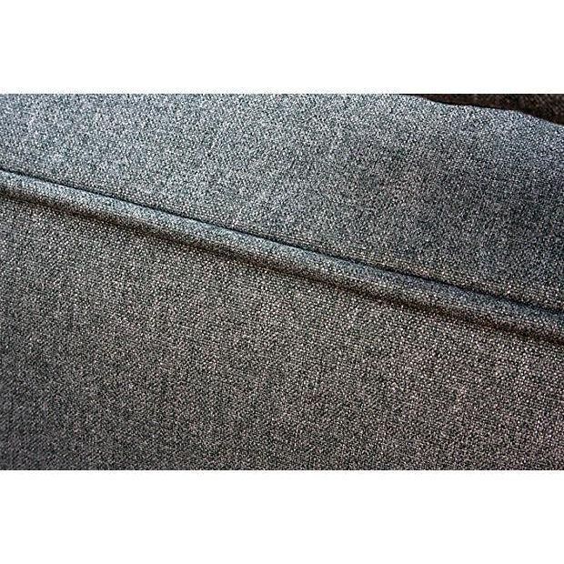 Italian Gray Upholstered Daybed - Image 5 of 6