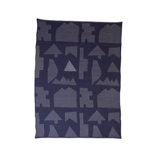 Houses Baby Alpaca Throw - Retail $350