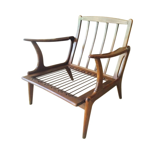 Mid-Century Modern Lounge Chair - Image 1 of 7