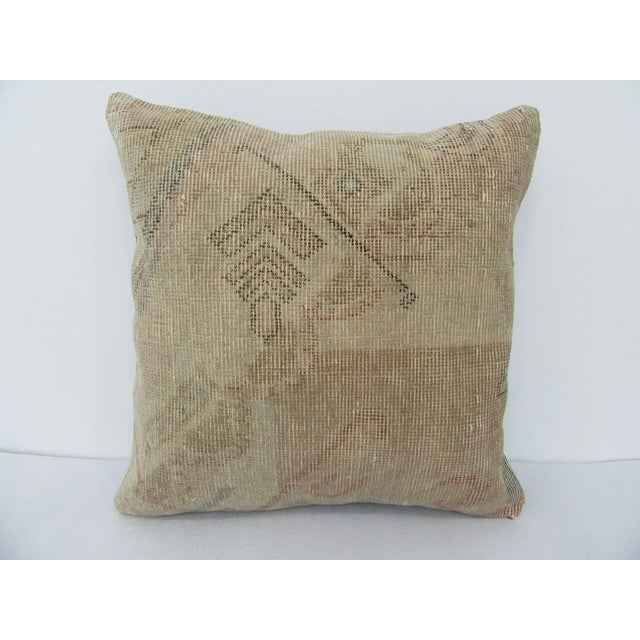 Turkish Faded Decorative Vintage Pillow For Sale - Image 4 of 4