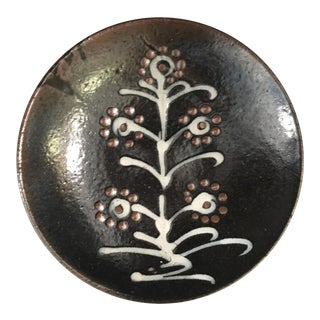 Vintage Studio Pottery Plate For Sale
