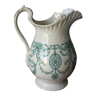 1920s English Pitcher For Sale