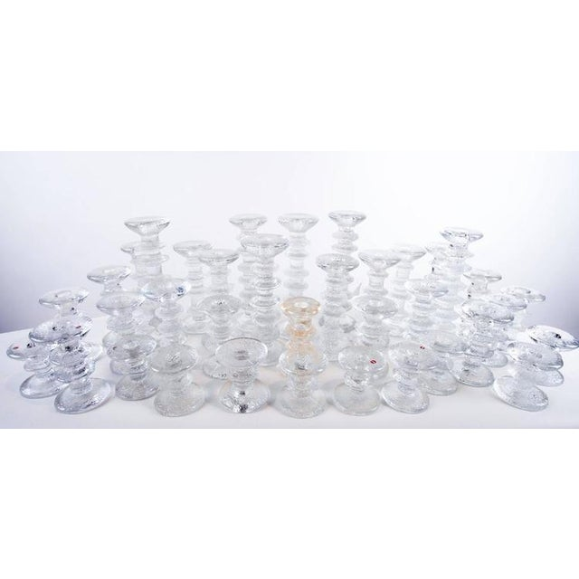 "1970s ""Ice Crystal"" Candlesticks - Set of 36 - Image 4 of 5"