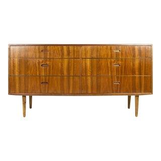 1950s Danish Modern Arne Vodder 6-Drawer Dresser