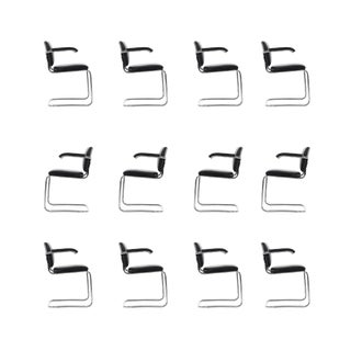 Set of 12 Marcel Breuer Dining Chairs For Sale