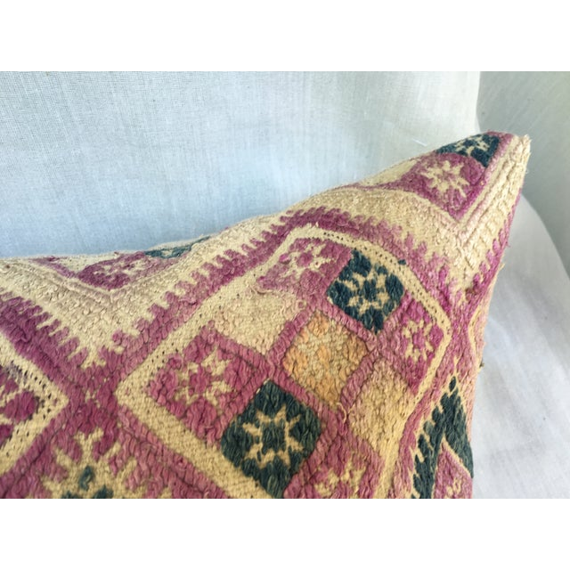 Antique Chinese Embroidered Wedding Quilt Pillow - Image 5 of 7