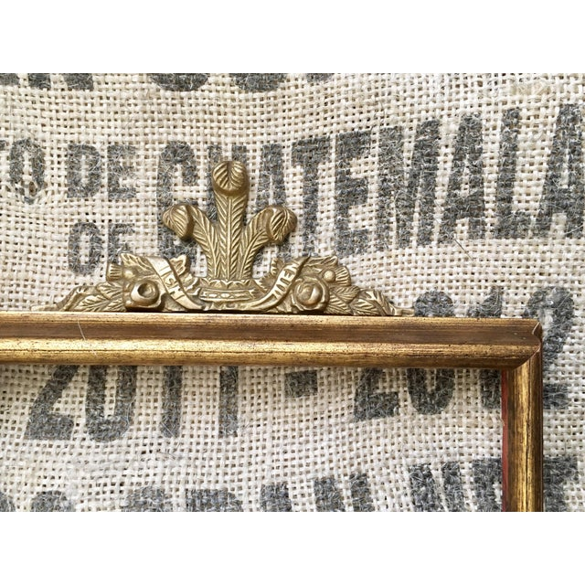 Solid Brass Frame Topper - Image 5 of 5