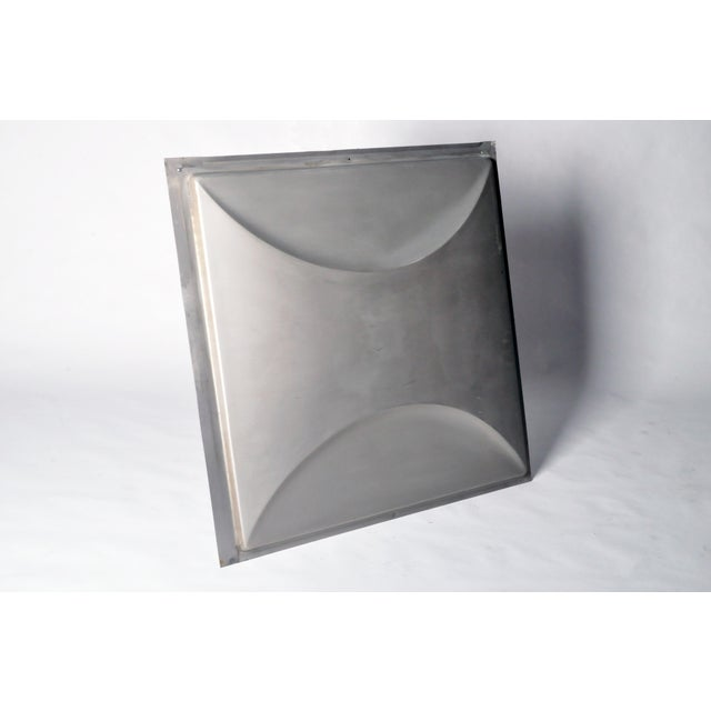 Vintage Aluminum Wall Panels- Set of 9 For Sale In Chicago - Image 6 of 10