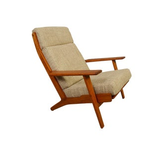1960s Vintage Hans Wegner for GETAMA Lounge Chair For Sale