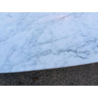 Mid-Century Modern Saarinen Marble Top Tulip Dining Table Preview